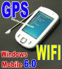 Telefono astuto sbloccato Flo di tocco di GPS WiFi di Built-in di Windows Mobile 6.0 (5)