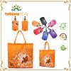 Sacchetto di acquisto riutilizzabile di Eco che piega il sacchetto di Shoudler in clip del sacchetto casuale