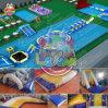 2018 Портативный потрясающие стальная рама плавательный бассейн с приваренными водных игрушек
