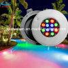 Résine 100% Filled DEL Swimming Pool Lamp 18W RVB DEL Underwater Light 12V