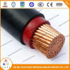 cabo elétrico blindado de cobre isolado XLPE blindado de fio 35mm2 de aço
