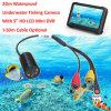 Precio de fábrica 2016 Mundial más pequeña cámara a prueba de agua 520TVL Mini circuito cerrado de televisión para la Inspección Submarino con 8 luces del IR