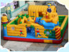 Inflatable feliz Air Castle con el CE Certificate Blower (FLCA)