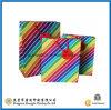 Saco de mão de papel colorido arco-íris (GJ-Bag726)