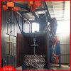 Tipo macchina del gancio di granigliatura fornita dell'amo o della gru