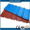 Forme d'onde T de couleur et forme recouvert de feuille de toiture