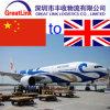 هواء شحن من [شنزهن] الصين إلى لندن [أوك]