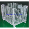 高品質およびDurability Rollingの重義務Stacking Steel Wire Mesh Containers