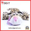 주문품 견면 벨벳에 의하여 채워지는 표범 애완 동물 장난감