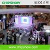 Exhibición de LED a todo color del alquiler de la pequeña echada del pixel de Chipshow P3.33