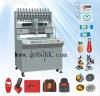 Los mejores colores del sistema que controla 12 del PLC de la máquina de moldear del PVC Keychain de la rentabilidad