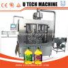 Máquina de rellenar del petróleo automático del acero inoxidable