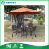 새로운 High Quality Cast Aluminum Outdoor Furniture 또는 Cast Aluminum Table 및 Chair (FY-017ZX)