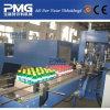 Automático de la película del PE del encogimiento del calor de la máquina de embalaje con bandeja de papel corrugado