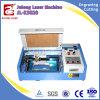 Tampon en caoutchouc faisant la gravure de laser du CO2 50W et la machine de découpage
