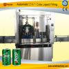 máquina de relleno automática del lacre de la poder de bebida 2400cph