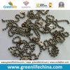 装飾的な2.0mm Metal /Stainless Steel Bead Ball Badge Chain