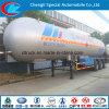반 반 LPG 가스 트레일러 60 Cbm LPG 탱크 트레일러 나이지리아 ASME 트레일러