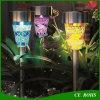 Helles Control IP44 Garten Decoration Lawn Light Solar Solar Landscape Light Lawn Lamp Set mit Spike