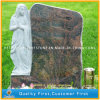 Azzurro di Vizag, monumento del granito dell'aurora/pietra tombale con la scultura