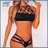 Form-heiße Frauen-reizvoller hoher Stutzen-Bikini mit preiswertem Preis