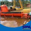 Große gewundene Sand-Waschmaschine, China-Sand-Waschmaschine