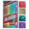 Señalización de la insignia de la muestra Colorful Glitter Ideas Company