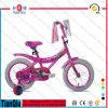 A bicicleta nova das crianças do projeto caçoa a bicicleta