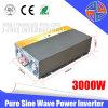 Alta eficiencia 3000W DC 24V AC 110 / 220V de onda sinusoidal pura potencia del inversor