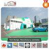 30X60m grande exposição tenda com parede de disco rígido para a Feira de Comércio Internacional