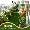 Tapis normal artificiel vert professionnel d'herbe pour le balcon