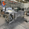 Macchina industriale di pulizia del flusso turbolento dell'ortaggio da frutto
