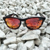 Occhiali da sole di colore rosso dello specchio polarizzati replica all'ingrosso in linea del progettista dell'Italia della fabbrica