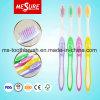 Populäre weiche PBT Borste-erwachsene Zahnbürste mit der FDA Bescheinigung genehmigt