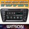 Witson Windows Radio Stereo reproductor de DVD para Skoda Octavia 2013 2014