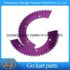 Aluminiumlegierung gehen Kart 35# Kettenrad für Kette 35#