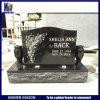 Grafsteen van het Graniet van de metselaar de Zwarte Goedkope voor Begraafplaats