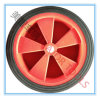 工場は直接10X2固体ゴム製手のトロリー車輪を販売する