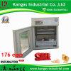 Petit oeuf numérique entièrement automatique incubateur pour 176 des oeufs de poule Kp-4
