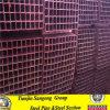 Fluss-Stahl-Quadrat-Kohlenstoff geschweißtes Stahlrohr