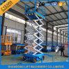 levage vertical de levage électrique hydraulique mobile de ciseaux de 8m
