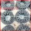 Cepillo de pulido redondo abrasivo de nylon del embase de los PP (YY-109)