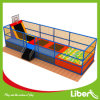 Hot Selling Square Jumping Mini Lit Trampoline à vendre