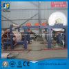 cadena de producción grande del papel higiénico de la capacidad de 3000m m con el tejido que convierte la máquina