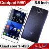 Telefone da G/M 3G CDMA do Quad-Núcleo de Snapdragon Msm8625q (5951)