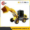 1.5t hydraulische Mini VoorEuro 3 van de Lader van het Wiel met Ce
