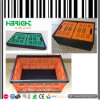 Foldable Stackable Plastic Crate para a fruta e verdura