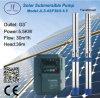 6sp30ステンレス鋼の浸水許容の遠心太陽ポンプ