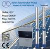 versenkbare zentrifugale Solarpumpe 6in des Edelstahl-666L