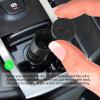 Auriculares sem fio do fone de ouvido de Bluetooth com carregador do carro